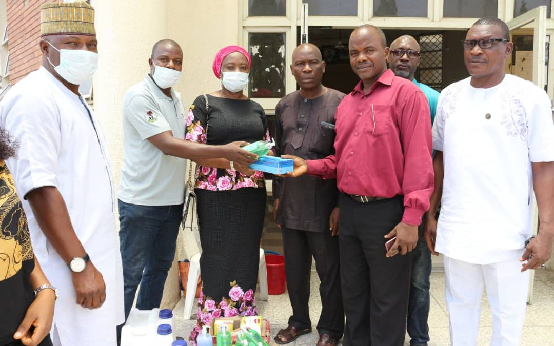 KGIRS DONATES COVID-19 RELIEF MATERIALS TO KOGI SPECIALIST HOSPITAL AND NIGERIA CORRECTIONAL SERVICE, KOGI COMMAND