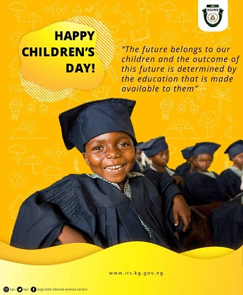 EDUCATE A CHILD TODAY!