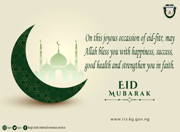 WISHING OUR ESTEEMED TAXPAYERS A BLESSED EID-MUBARAK