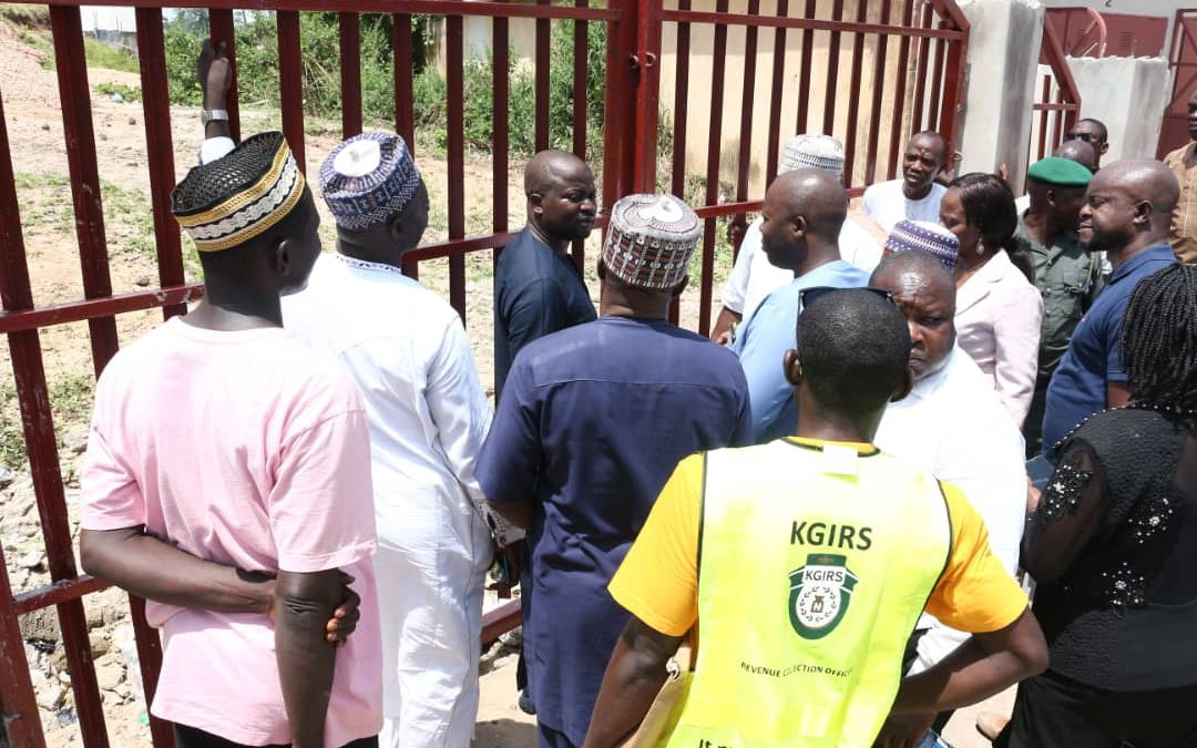 KGIRS IMC COMMISSIONS LOKOJA INTERNATIONAL MARKET EXIT GATE WITH THE PROMISE TO ACCOMPLISH THE MARKET ROAD EXPANSION