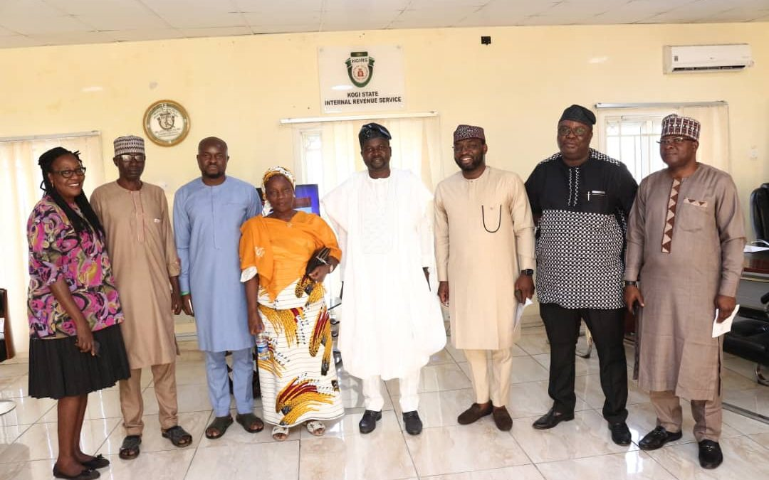 COURTESY VISIT FROM KOGI STATE BUREAU OF PUBLIC PROCUREMENT TO KGIRS