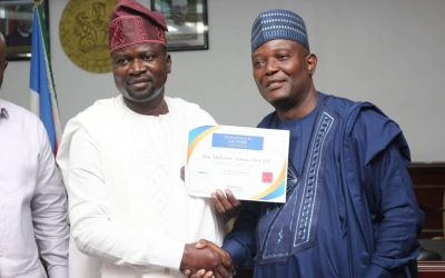 KGIRS IMC CHAIRMAN RECEIVES AWARD FROM ALFORD CONFERENCES LTD. IN COLLABORATION WITH JOINT TAX BOARD (JTB).