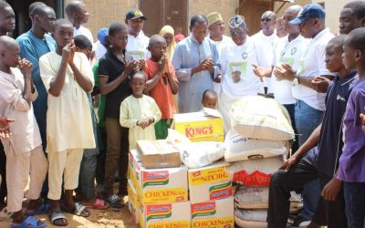 KGIRS DONATES FOOD ITEMS TO ORPHANS,WIDOWS IN KOGI