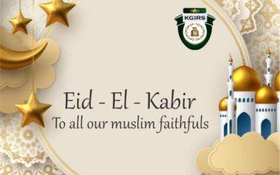 EID -EL- KABIR GREETINGS