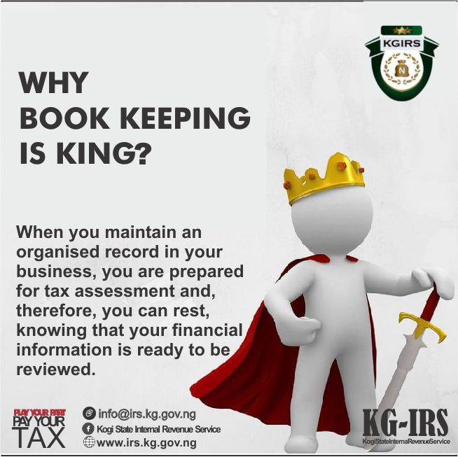 WHY BOOK KEEPING IS KING?