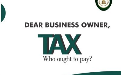 WHO OUGHT TO PAY TAX?